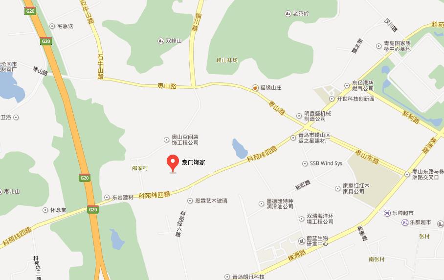青岛地址:青岛市崂山区株洲路高新科技工业园朗讯后